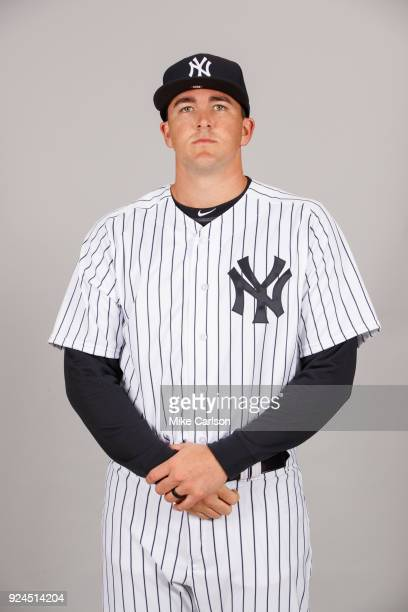 Jonathan Holder of the New York Yankees poses during Photo Day on Wednesday February 21 2018 at George M Steinbrenner Field in Tampa Florida