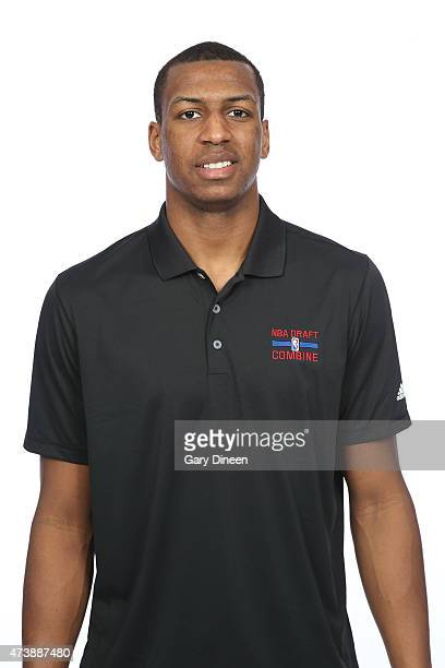 Jonathan Holmes poses for a headshot during the 2015 NBA Draft Combine on May 16 2015 at Northwestern Memorial Hospital in Chicago Illinois NOTE TO...