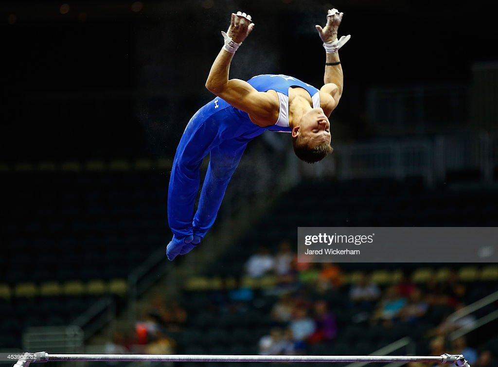 2014 P&G Gymnastics Championships : News Photo