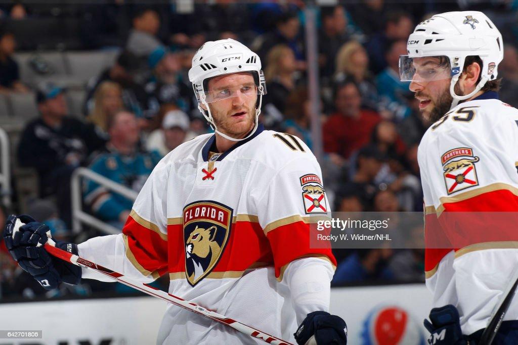 Florida Panthers v San Jose Sharks : News Photo