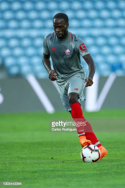 Jonathan Ikone of LOSC Lille during the match between Everton FC and LOSC Lille for Algarve Football Cup 2018 at Estadio do Algarve on July 21, 2018...