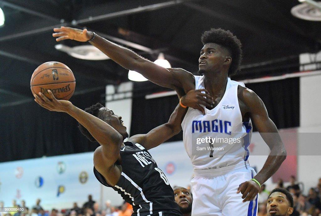 2018 NBA Summer League - Las Vegas - Brooklyn Nets v Orlando Magic : News Photo