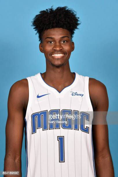 Jonathan Isaac of the Orlando Magic poses for a head shot during media day on September 25 2017 at Amway Center in Orlando Florida NOTE TO USER User...