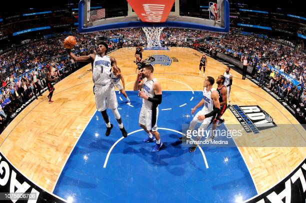 Jonathan Isaac of the Orlando Magic shoots the ball against the Toronto Raptors on December 28 2018 at Amway Center in Orlando Florida NOTE TO USER...
