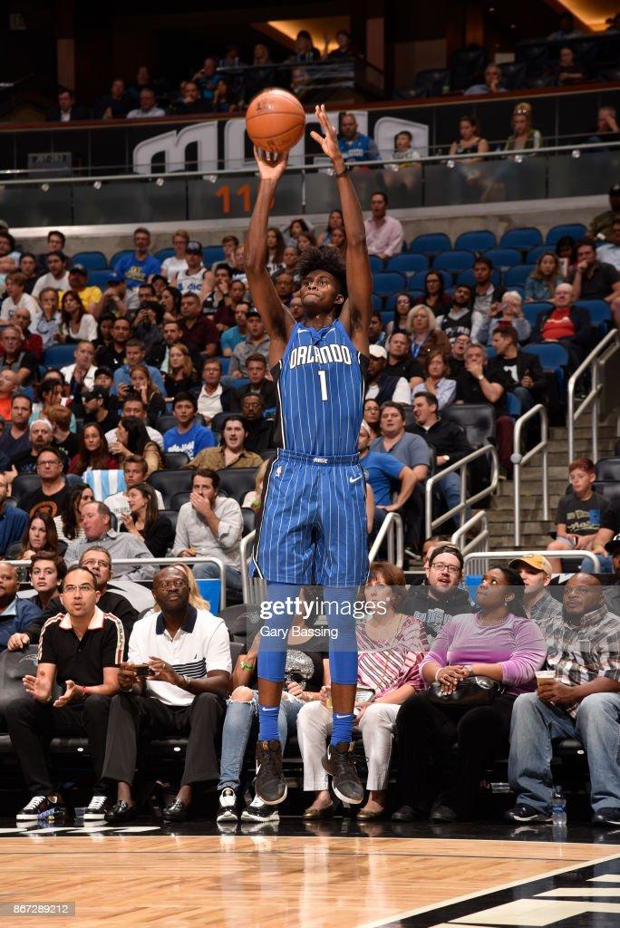 San Antonio Spurs v Orlando Magic : News Photo