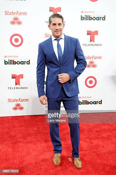 Jonathan Islas attends the 2014 Billboard Latin Music Awards at Bank United Center on April 24 2014 in Miami Florida