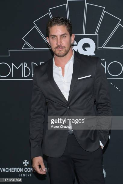 Jonathan Islas attends the black carpet of the GQ Hombres del Año 2019 at Fronton Mexico on September 25 2019 in Mexico City Mexico