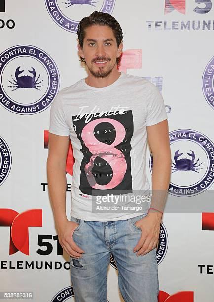 Jonathan Islas is seen at the 'Liga Contra el Cancer' Telemarathon on June 4 2016 in Miami Florida