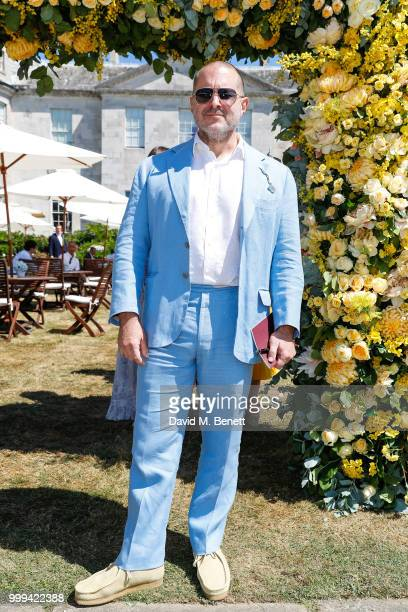 Jonathan Ive attends Cartier Style Et Luxe at The Goodwood Festival Of Speed Goodwood on July 15 2018 in Chichester England