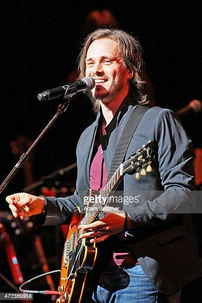 Jonathan Jackson from the TV show Nashville performs during the Nashville cast spring concert tour at Northrop Auditorium on May 6 2015 in...
