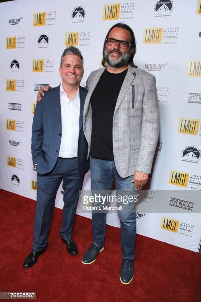 Jonathan Jansen and Alexander Georges attend the 6th Annual LMGI Awards at The Eli and Edythe Broad Stage on September 21 2019 in Santa Monica...