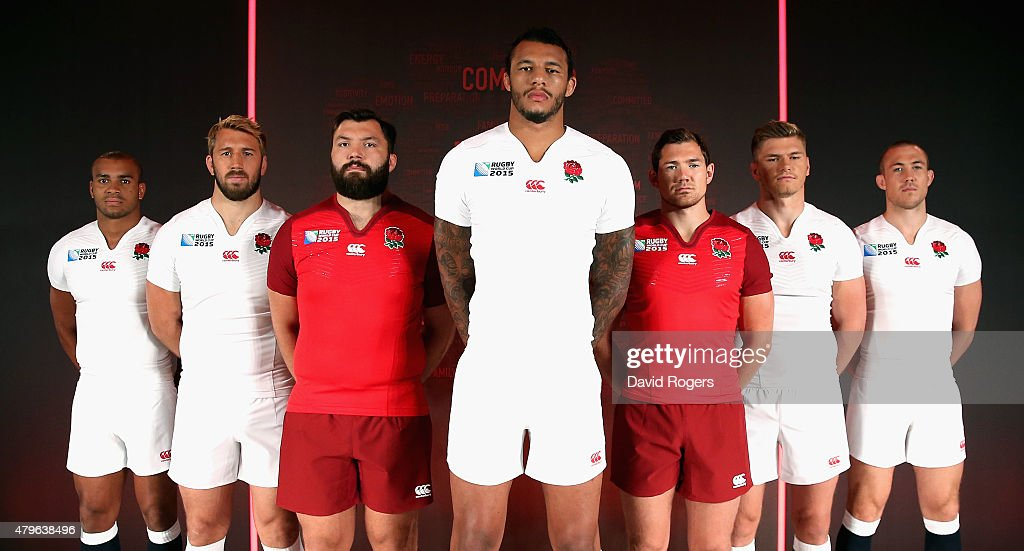 England Rugby World Cup  Kit Launch : News Photo