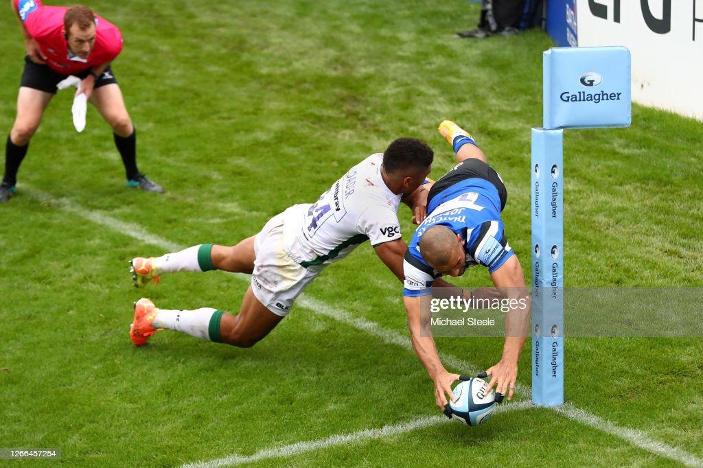 Bath Rugby v London Irish - Gallagher Premiership Rugby : News Photo