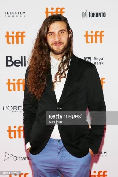 Jonathan Kawchuk attends the 'Clara' premiere during 2018 Toronto International Film Festival at Ryerson Theatre on September 10 2018 in Toronto...