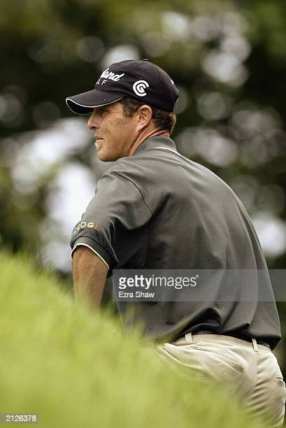 Jonathan Kaye on the tenth hole during the final round of the Buick Classic on June 22 2003 at the Westchester Country Club in Harrison New York