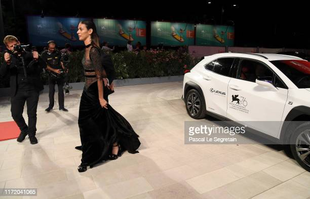 Jonathan Keltz and Laysla De Oliveira attend the Guest of Honour screening during the 76th Venice Film Festival at Sala Grande on September 03 2019...