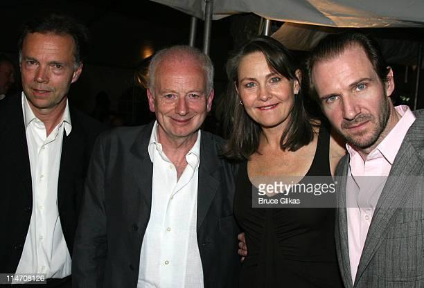 Jonathan Kent, Ian McDiarmid, Cherry Jones and Ralph Fiennes