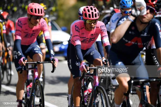 Jonathan Klever Caicedo Cepeda of Ecuador and Team EF Education - Nippo during the 100th Volta Ciclista a Catalunya 2021, Stage 1 a 178,4km stage...
