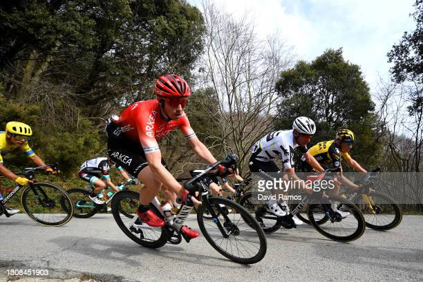 Jonathan Klever Caicedo Cepeda of Ecuador and Team EF Education - Nippo, Anthony Delaplace of France and Team Arkéa - Samsic, Robert Power of...