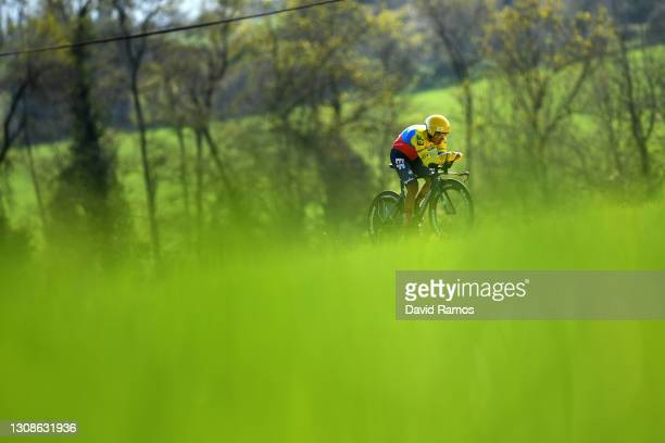 Jonathan Klever Caicedo Cepeda of Ecuador and Team EF Education - Nippo during the 100th Volta Ciclista a Catalunya 2021, Stage 2 a 18,5km Individual...