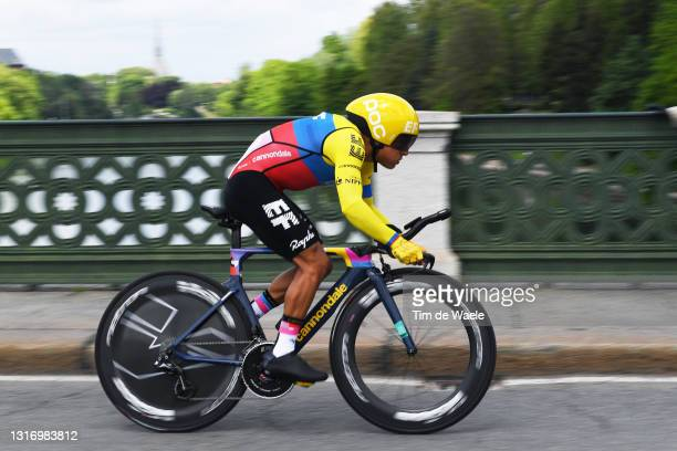Jonathan Klever Caicedo Cepeda of Ecuador and Team EF Education - Nippo during the 104th Giro d'Italia 2021, Stage 1 a 8,6km Individual Time Trial...