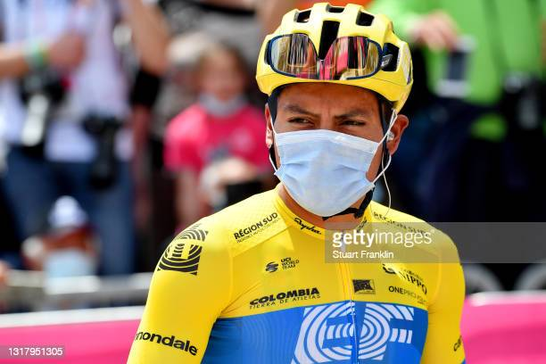 Jonathan Klever Caicedo Cepeda of Ecuador and Team EF Education - Nippo at start during the 104th Giro d'Italia 2021, Stage 7 a 181km stage from...