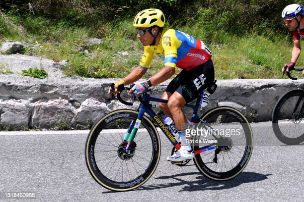 Jonathan Klever Caicedo Cepeda of Ecuador and Team EF Education - Nippo during the 104th Giro d'Italia 2021, Stage 10 a 139km stage from L'Aquila to...