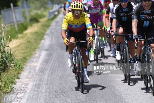 Jonathan Klever Caicedo Cepeda of Ecuador and Team EF Education - Nippo during the 104th Giro d'Italia 2021, Stage 12 a 162km stage from Perugia to...