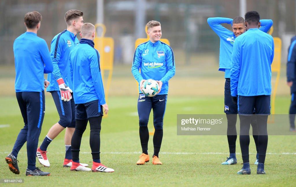 Hertha BSC - training session