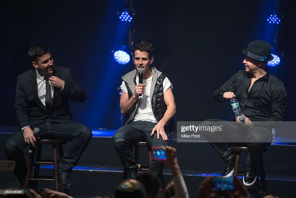New Kids On The Block In Concert - New York, NY : News Photo