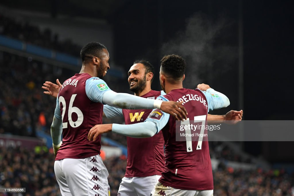 Aston Villa v Liverpool FC - Carabao Cup: Quarter Final : News Photo