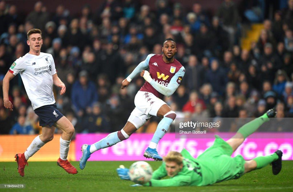 Aston Villa v Liverpool FC - Carabao Cup: Quarter Final : News Photo