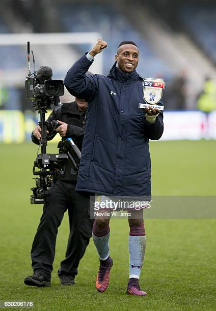 Jonathan Kodjia of Aston Villa after the Sky Bet Championship match between Queens Park Rangers and Aston Villa at Loftus Road on December 18 2016 in...
