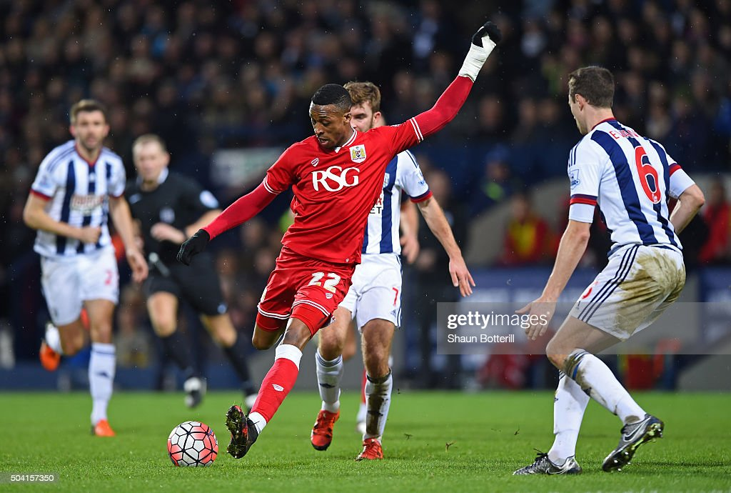 West Bromwich Albion v Bristol City - The Emirates FA Cup Third Round : News Photo