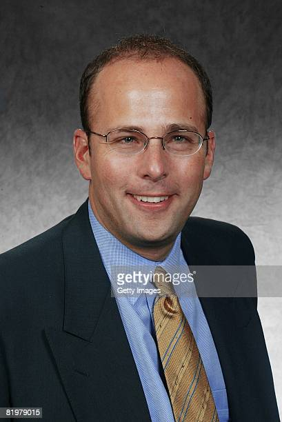 Jonathan Kraft of the New England Patriots poses for his 2008 NFL headshot at photo day in Foxborough Massachusetts