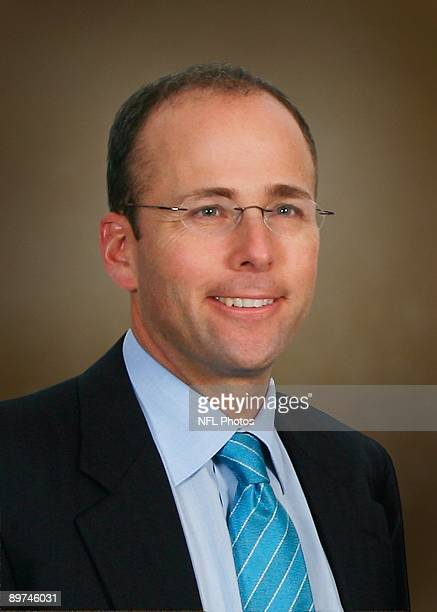 Jonathan Kraft of the New England Patriots poses for his 2009 NFL headshot at photo day in Foxborough Massachusetts