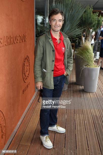 Jonathan Lambert attends the 2018 French Open Day Four at Roland Garros on May 30 2018 in Paris France
