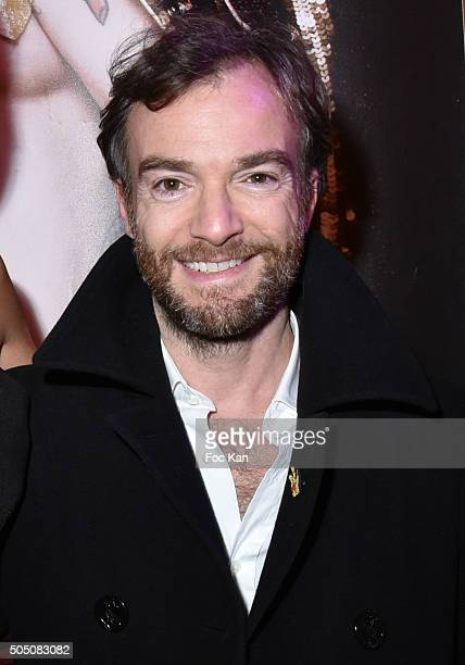 Jonathan Lambert attends The Hole' Show Party Hosted by Josy Foichat at Casino de Paris on January 14 2016 in Paris France