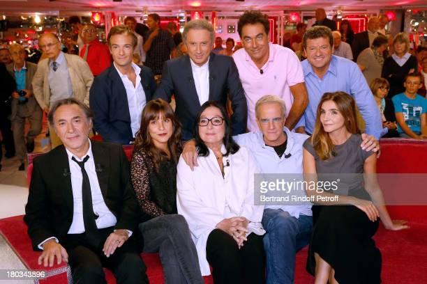Jonathan Lambert, Michel Drucker, Les Chevaliers du fiel Eric Carriere and Francis Ginibre. Main Guest Richard Berry, Flore Bonaventura, Nana...