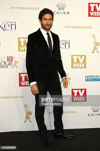 Jonathan LaPaglia arrives at the 58th Annual Logie Awards at Crown Palladium on May 8 2016 in Melbourne Australia