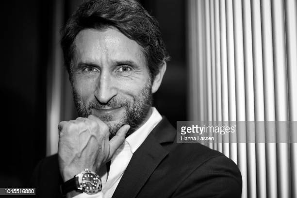 Jonathan LaPaglia attends the OMEGA Seamaster Diver 300M Launch Event at Icebergs Dining Room and Bar on October 4 2018 in Sydney Australia