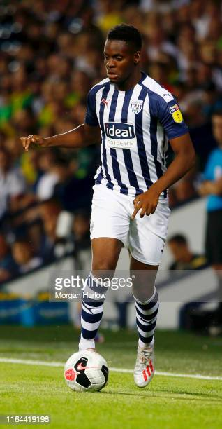 Jonathan Leko West Bromwich Albion runs with the ball during the PreSeason Friendly match between West Bromwich Albion and Bournemouth at The...