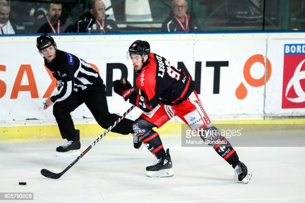 Jonathan Lessard of Bordeaux during the Magnus League Playoff match between Bordeaux and Gap on February 28 2018 in Bordeaux France