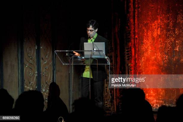 """Jonathan Lethem attends The New York Institute for the Humanities at NYU presents """"LIBRARY OF DUST"""" by DAVID MAISEL at The Angel Orensanz Foundation..."""