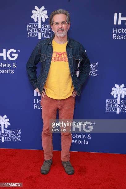 Jonathan Lethem attends the Talking Pictures screening of Motherless Brooklyn during the 31st Annual Palm Springs International Film Festival on...