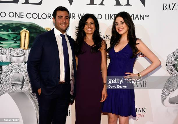 Jonathan LeVian Miranda LeVian and Lexy LeVian attend the Le Vian 2018 Red Carpet Revue at the Mandalay Bay Convention Center on June 7 2017 in Las...