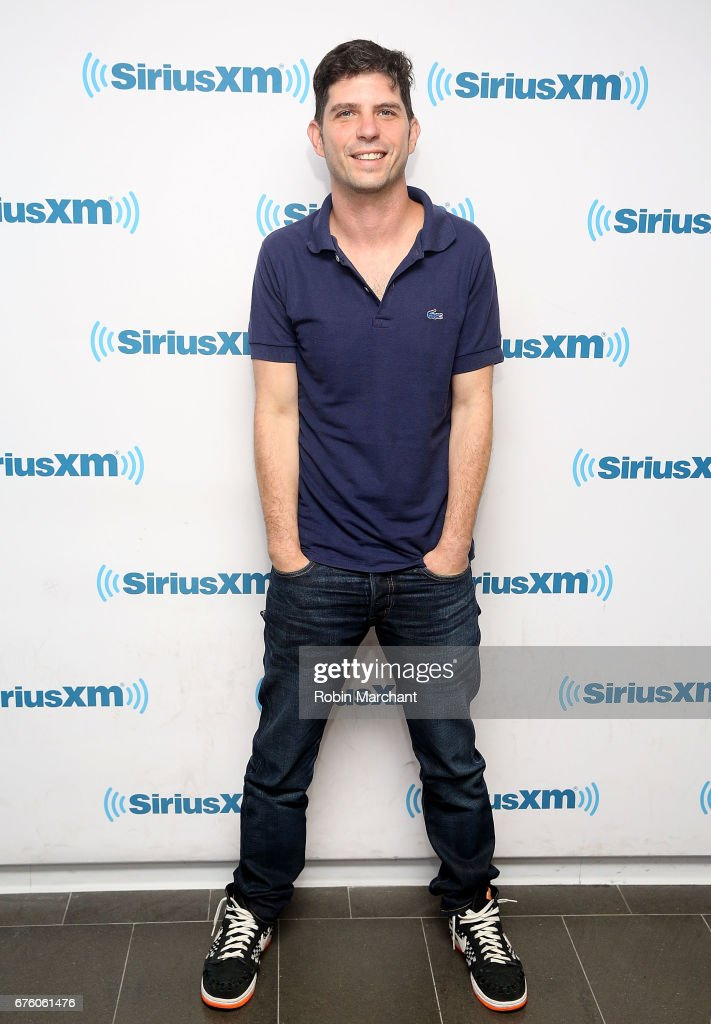 Jonathan Levine visits at SiriusXM Studios on May 2, 2017 in New York City.