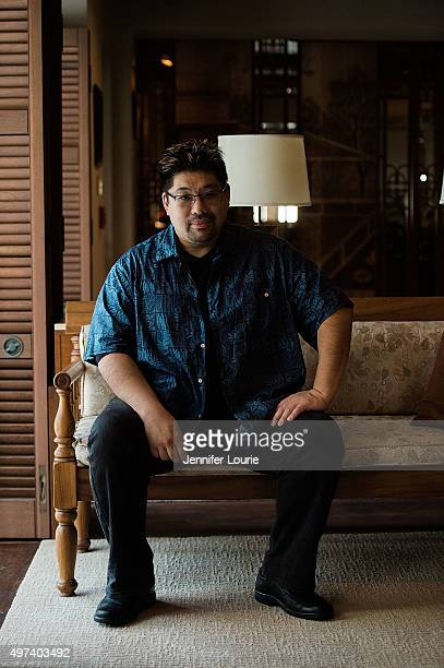Jonathan Lim poses for a portrait during the 2015 Hawaii International Film Festival on November 15 2015 in Honolulu Hawaii