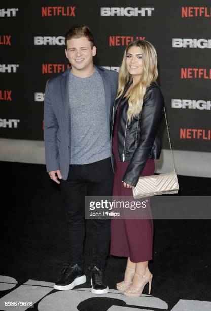 Jonathan Lipnicki attends the European Premeire of 'Bright' held at BFI Southbank on December 15 2017 in London England