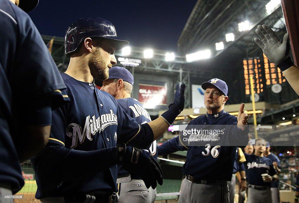 Milwaukee Brewers v Arizona Diamondbacks : News Photo